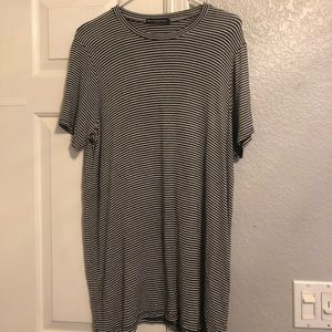 Brandy Melville Striped T-Shirt dress